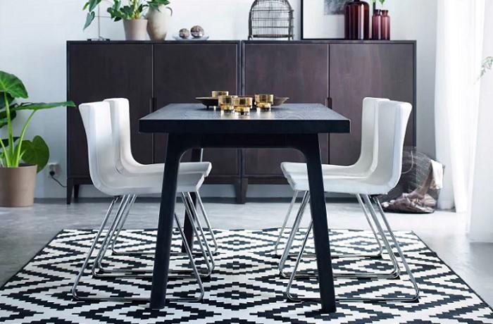 mesas de comedor ikea moderna