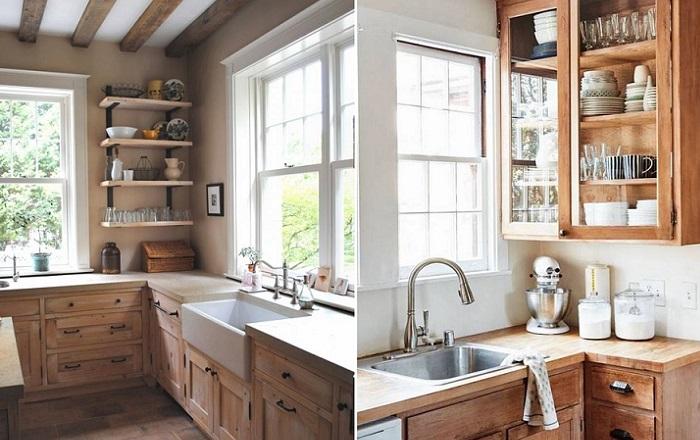 cocinas rusticas en madera