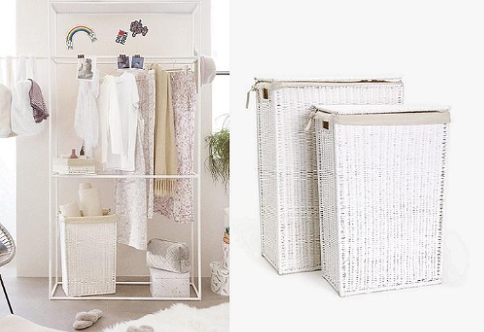5 cestos para ropa sucia organiza tu colada con estilo - Cestos para ropa sucia ...